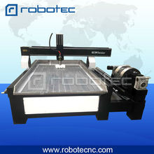 2017 Most Popular T-slot working table, water tray with water pipe, 1325 marble, steel, wood cnc milling machine