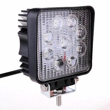 Arrive 4 inch 27W led work light IP67 waterproof Flood Spot LED External Light Bar Offroad Driving Lamp SUV Car Light
