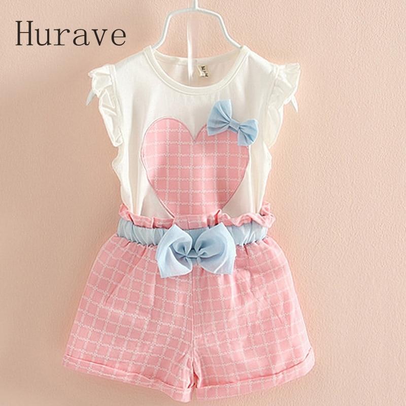 7b9f3e598582 Aliexpress.com   Buy Hurave 2pcs striped shirts+ Kids shorts suits ...