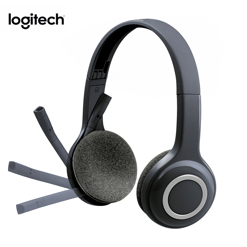 Original Logitech H600 Headset Wireless Headset Rotating Portable With Microphone Noise Canceling Gaming Headphone