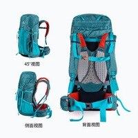 Naturehike outdoor backpack mountaineering bag men and women shoulder bag large capacity 55Lsports bagleisure travel bag on foot