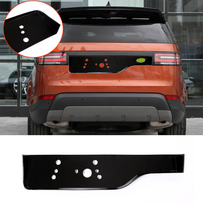 For Land Rover Discovery 5 LR5 2017 L462 1Pcs Tail gate license Decoration Trim