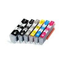 YLC 6pcs 6colors PGI550 PGI 550 CLI 551 compatible ink cartridge for Canon IP7250 MG5450 MX925 MG5550 MG6450 MG5650 MG6650 MX725|Ink Cartridges| |  -