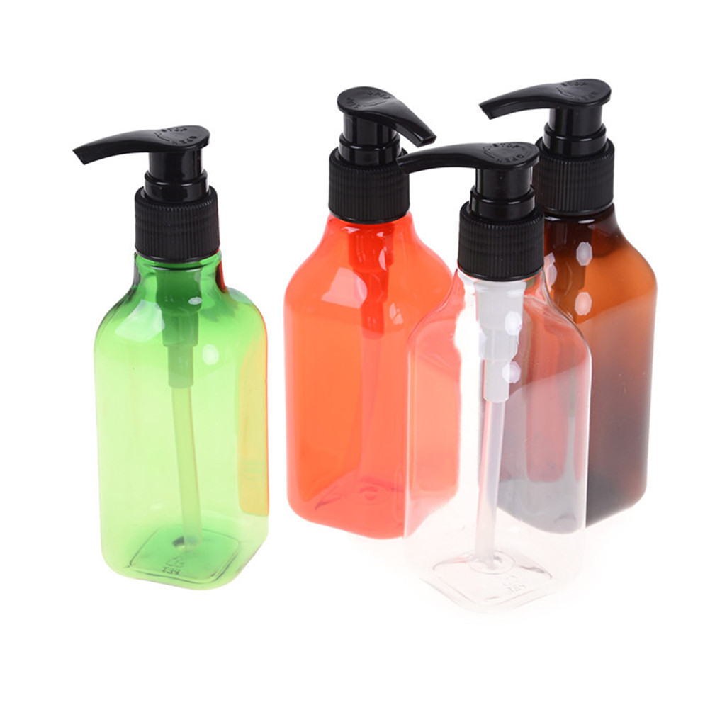 Bathroom Fixtures 1pcs Clear Plastic 350ml Shampoo Lotion Shower Gel Foam Pump Bottles Foaming Bottle Liquid Soap Whipped Mousse Points Bottling With The Best Service