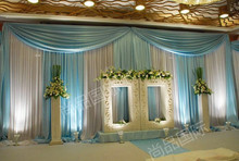 3*6m Wedding props, final goods for wedding backdrop,Gauze curtain decoration,wedding decoration