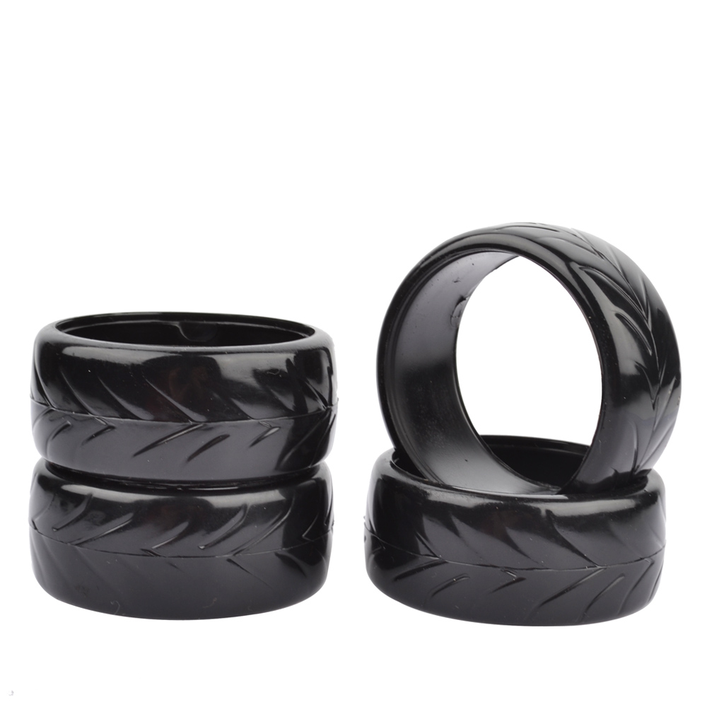 RC 1/0 Drift Tires 26mm Hard Tyre 4PC for 1:10 Drift Car 1/10 Drift Tire туринг 1 10 nitro 3 drift discount tire nissan s 13 new