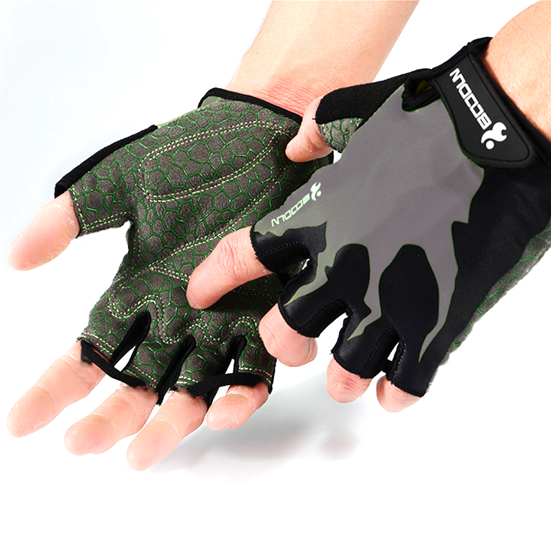 Sports Gym Gloves Half Finger Breathable Weightlifting Fitness Gloves Dumbbell Men Women Body Building Gym Gloves S/M/L/XL/XXL body building sports cyling half finger gloves for women black red