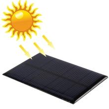 Módulo do Painel de Energia Bateria para a para a LUZ Nova 6 V 0.6 W Poli Solar DIY Carregador de Bateria do Painel Pequena Célula Telefone Brinquedo Portable