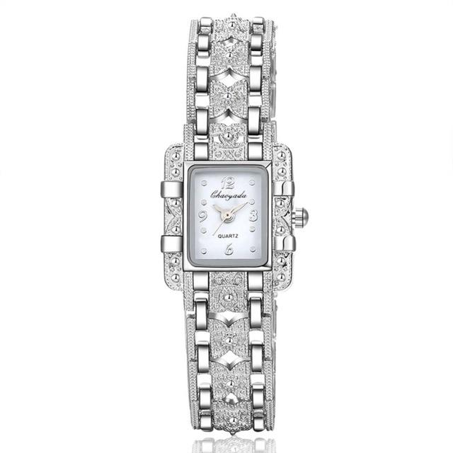 Reloj Mujer Women Bracelet Wrist Watch Women Watches Fashion Silver Women's Watc