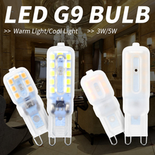 LED Lamp G9 Led 220V Corn Light Bulb g9 3W Spotlight 5W Lampada Candle 2835 SMD Energy Saving Chandelier