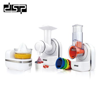 DSP 3 IN 1 Juicer Making Jam Food Processor Dessert Making Juicer Cooking Machine Mixer Food Processor 220-240V150W food mixers bosch mfq2210p home kitchen appliances processor machine equipment for the production of making cooking
