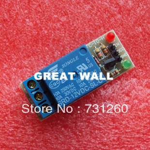 New 12V High level trigger One 1 Channel Relay Module interface font b Board b font