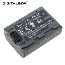 HOT! 1pcs Battery NP-FP50 /NP-FP51 NP FP50 NP FP51 Rechargeable Camera Battery For Sony DCR-HC19 HC30 HC40 HC46