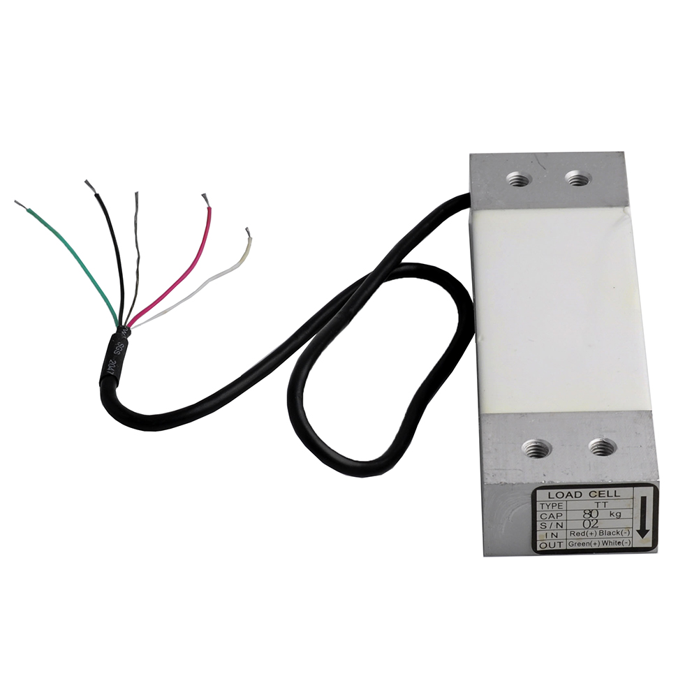 Load Cell 80KG Wide Measurement Platform Scale Pressure Sensor Electronic Weight Weighing Sensor YZC-1B FZ2042-80