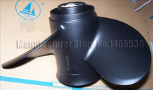 Hélice de envío gratis para Yamaha Hidea Parsun motor fuera de borda 30hp 9,9x12 (97/8X12) hecho en Taiwan Solas