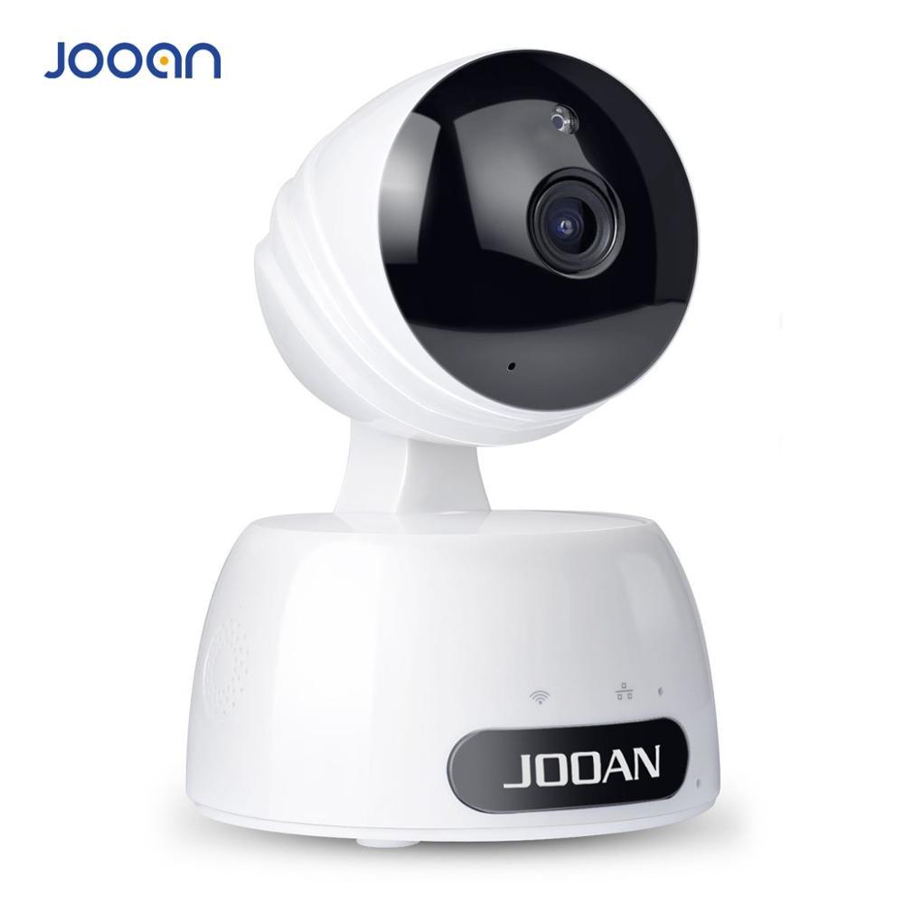 Caméra IP JOOAN 1080P sécurité sans fil caméra IP WiFi intérieure pour bébé avec 2 voies Audio/Vision nocturne/détection de mouvement