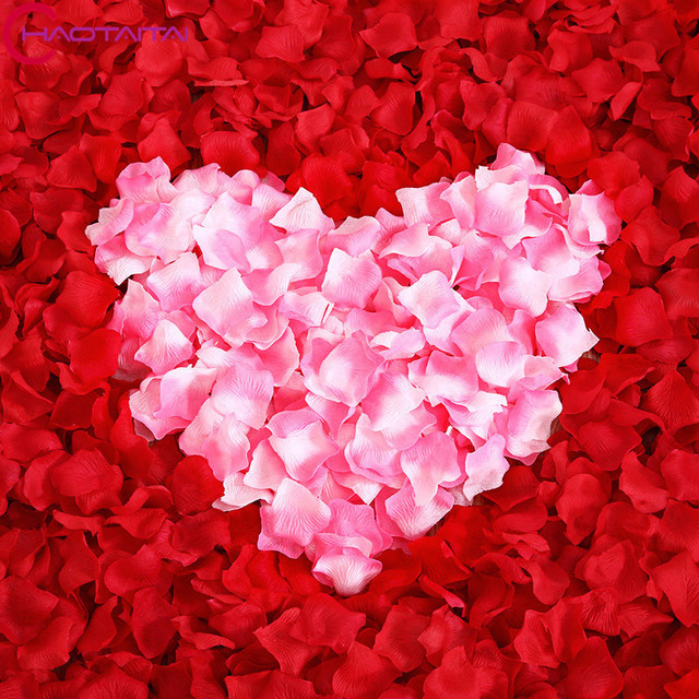 Bridal rose petals 1000pcs artificial silk aisle decoration shower bridal rose petals 1000pcs artificial silk aisle decoration shower confetti decor supply on sale flowerpetal wedding junglespirit