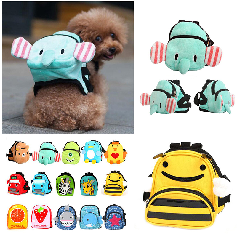 DOGGYZSTYLE Backpack School-Bag Small Multifunction Pets-Supplies Dourable For Canvas