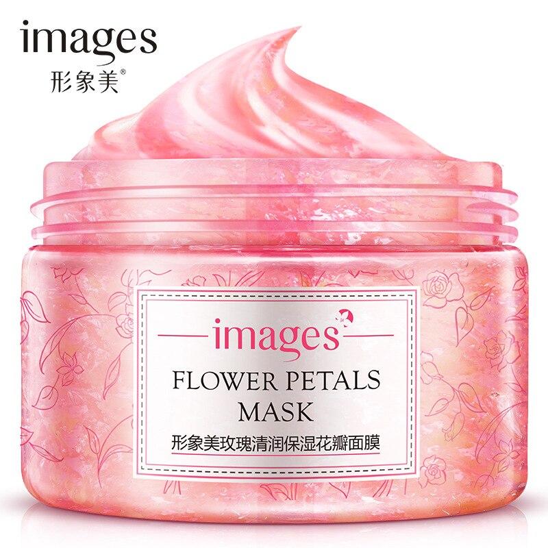 Cosméticos de corea rose Petals Lavable máscara para dormir hidratante mascarill