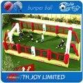 10*5 m crianças mini campo de futebol inflável, campo de futebol inflável