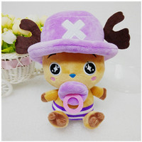 Cute 20cm Height Stuffed One Piece Chopper Toys Baby Kids Plush Anime Toy Dolls Kawaii Baby