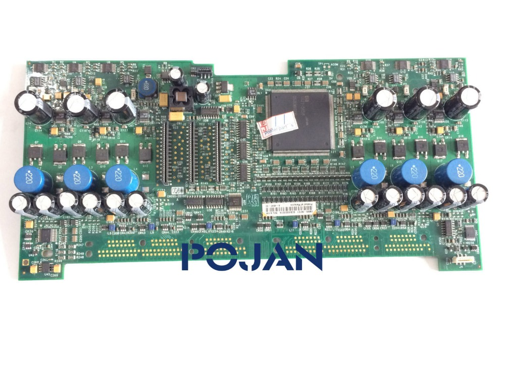 Carriage PCB Board designjet 5000 5100 5500 ps 42in 60in Q1251-69273 C6090-60094 Plotter parts Free shipping цена
