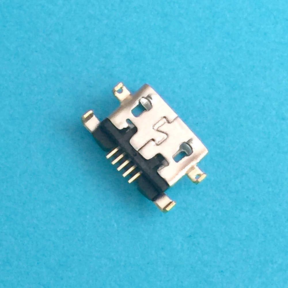 Voor Alcatel 6035R Idol S 4033 4033D POP C3 micro usb charging dock connector plug socket charger port Reparatie deel