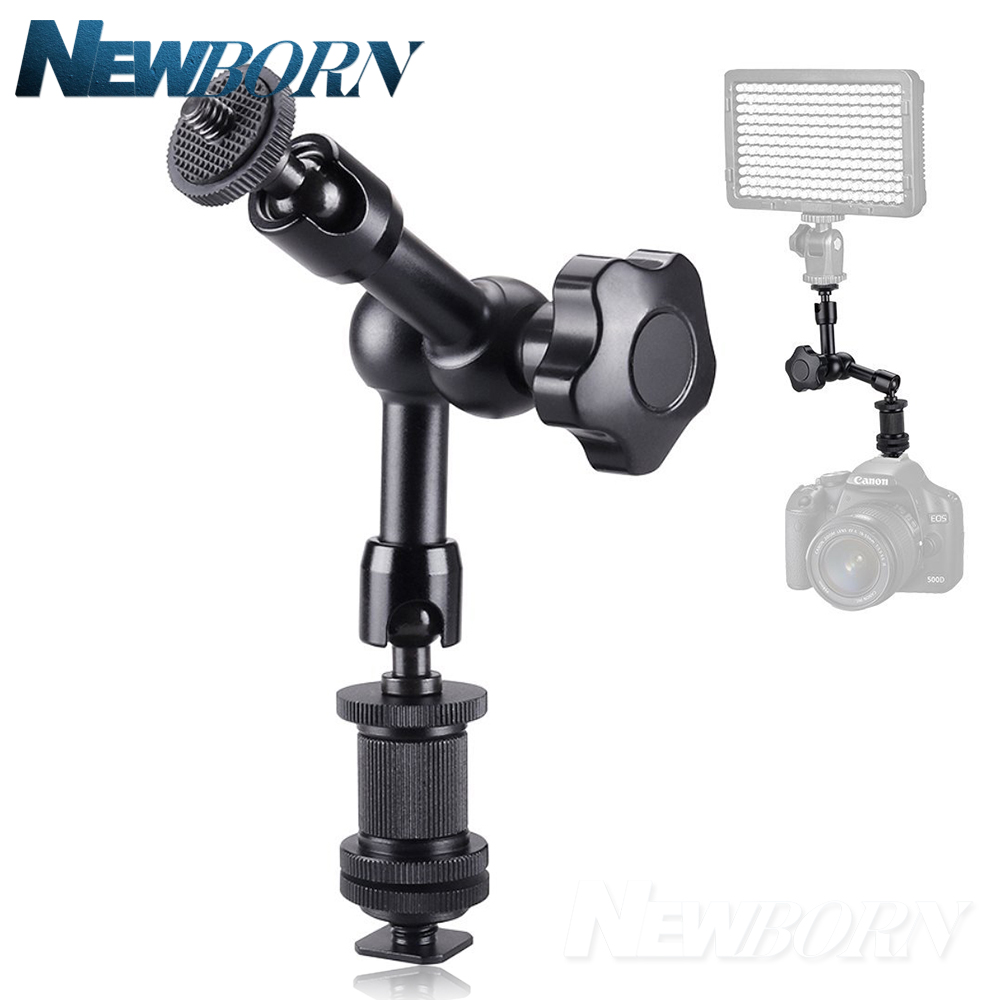 7 inch 1/4 Adjustable Friction Articulating Magic Arm+Clamp for DSLR Rig LCD Monitor LED Light Stabilizer Go pro Cell phone цена