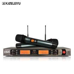 Professional UHF wireless microphone hands wireless microphone k-860 Kara OK home KTV stage