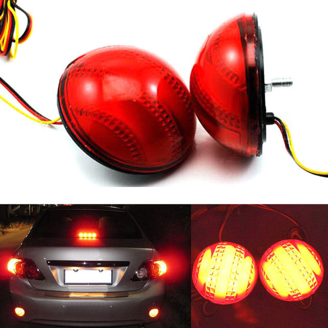 Cyan Soil Bay For Toyota Corolla 2007 2010 Brake Rear Fog Lamps Per Lights With Light And Running 2pcs