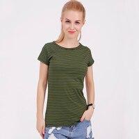 Fashion 100 Feel Well Cotton Tees Women Summer O Neck T Shirt Female Short Sleeve Tops