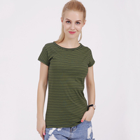Fashion 100 Feel Well Cotton Tees Women Summer O Neck T Shirt Female Short Sleeve Tops