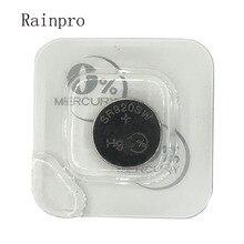 Rainpro 2 قطعة/الوحدة SR920SW 371 الفضة أكسيد عملة خلية ساعة بطارية 1.55 فولت