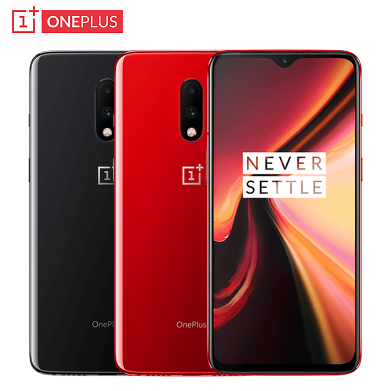 Global Rom OnePlus 7 Mobile Phone 6.41 Inch 8GB+256GB Snapdragon 855 Octa-core Android 9.0 48.0MP 3700mAh NFC Smartphone