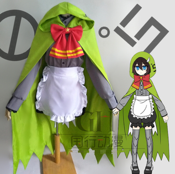 Anime Aotu World Camille Little Green Riding Hood Uniform Outfit Cosplay Costume Unisex Halloween Free Shipping New 2019 STOCK.