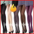 Outono e inverno 120d veludo meia-calça meias espessamento térmica, meia-calça menina do verão 7766