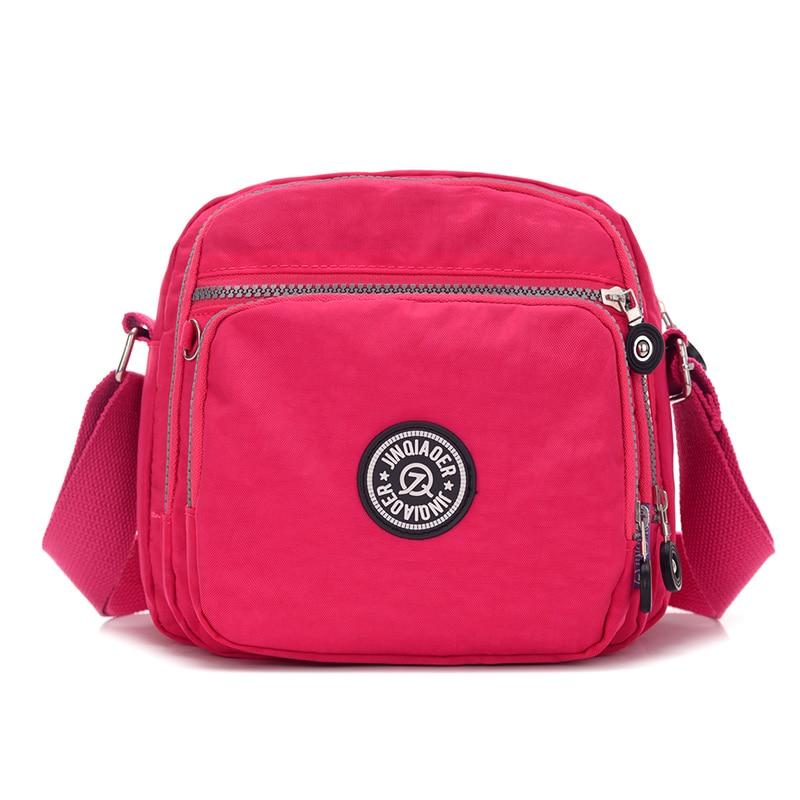 ed5b822e00e5 US $12.28 48% OFF women messenger bags waterproof nylon female shoulder  bags bolsas summer High quality crossbody casual bag ladies-in Shoulder  Bags ...