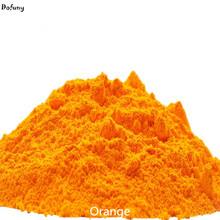 NEON Orange Color Fluorescent Pigment Phosphor Powder ,100g/lot Decoration Powder Fluorescence For Clothes,Free shipping