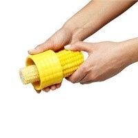 Creatieve Thuis Gadgets Corn Stripper Cob Cutter Verwijder Keuken Accessoires Koken Gereedschap 1