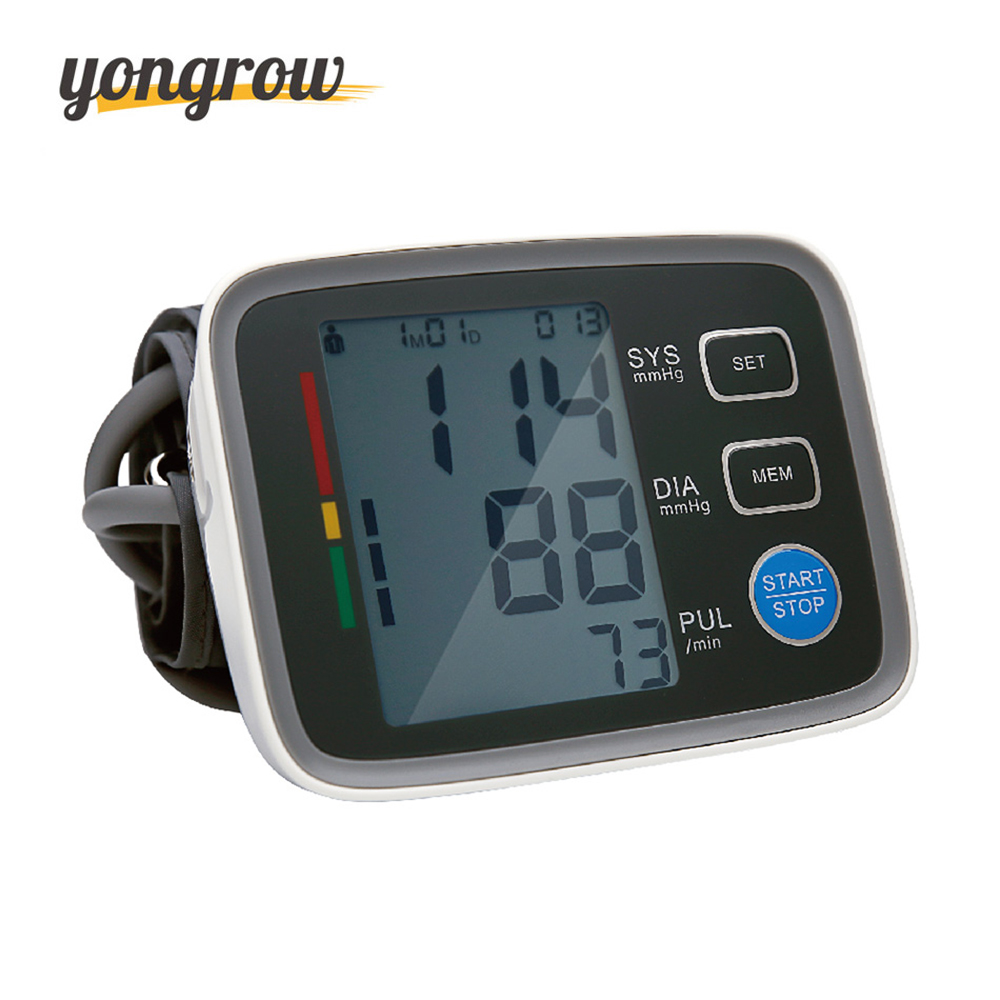 Yongrow Arm Blood Pressure Monitor Sphygmomanometer Bloeddruk Tonometer Medidor De Presion Arterial Digital Blood Pressure homeleader 7 in 1 multi use pressure cooker stainless instant pressure led pot digital electric multicooker slow rice soup fogao