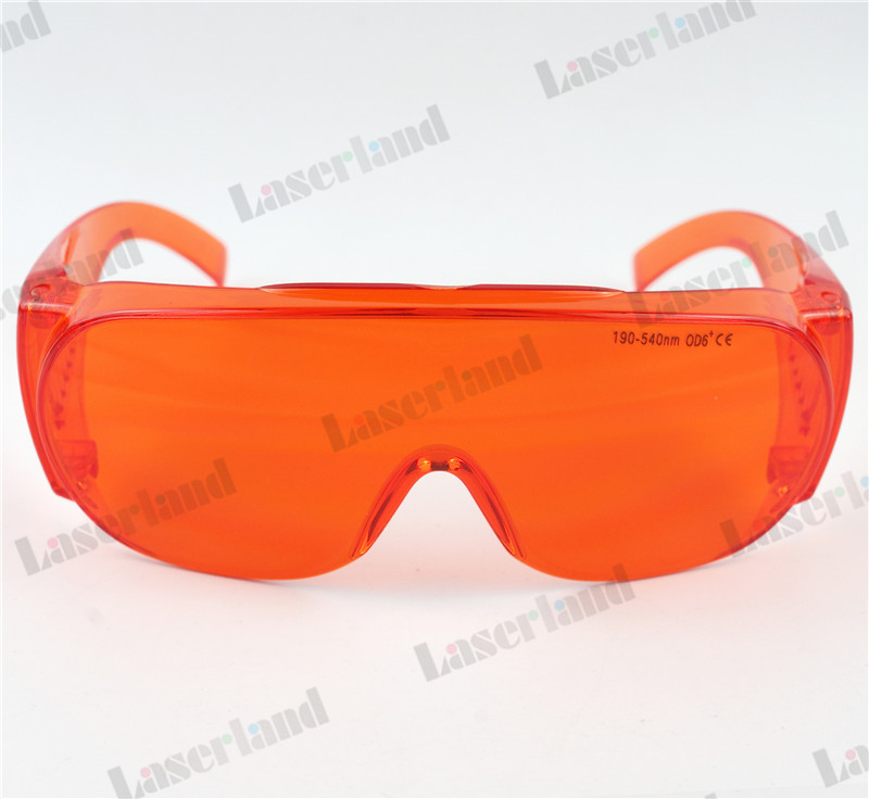 EP-3-6 Laser Goggles Protective Goggles 200-540nm specially for 532nm Green Eyewear Safety Glasses OD6+ CE Standard 4pcs 100