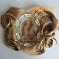 4 В Beautie Лучших Шиньоны Для Женщин, изысканные моно с НПУ вокруг Женский Парик, индийские Волосы Системы С Зажимами