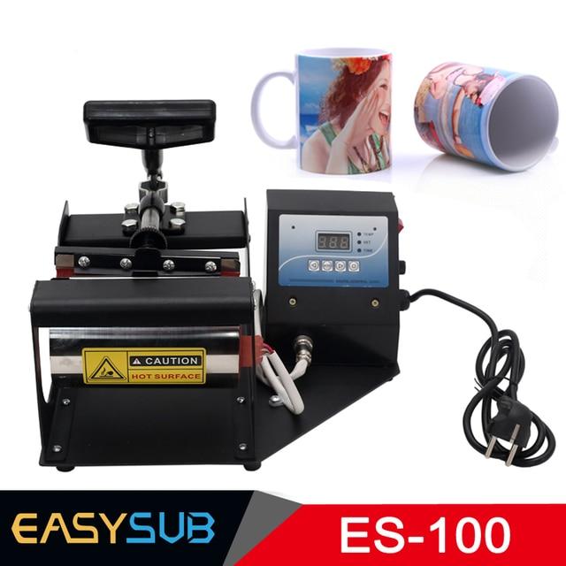 הדיגיטלי 11 oz ספלי ספל סובלימציה מכונת הקש ספל חום עיתונות מדפסת כוס מכונת הקש חום העברת מכונת לספלים כוסות
