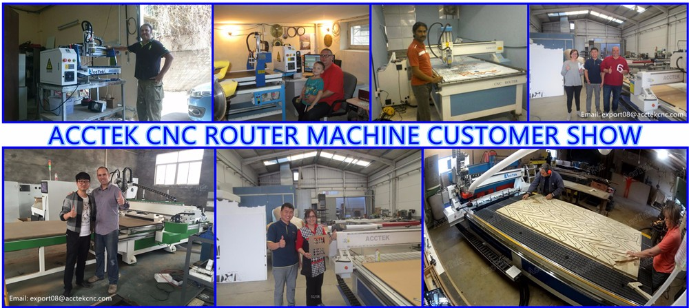 cnc router customer show