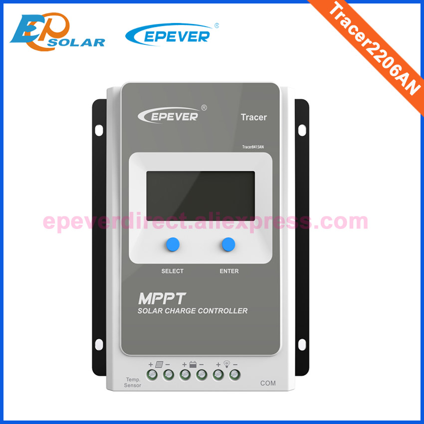 10A 20A Epever MPPT Solar Charge Controller 12V/24V Tracer AN Battery Panel Power Regulator Charger Max PV 60V Solar Controller
