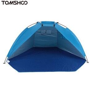 Image 2 - TOMSHOO في الهواء الطلق الرياضة ظلة خيمة لصيد الأسماك نزهة شاطئ حديقة التخييم خيمة الخيام التخييم في الهواء الطلق خيمة السفر