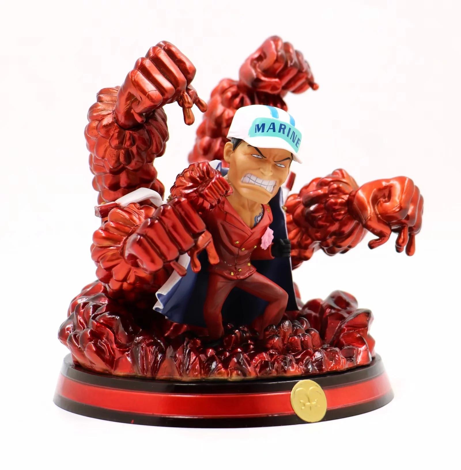 Anime une pièce BBT Sakazuki Akainu figurines d'action le maréchal du quartier général de la marine modèle jouets