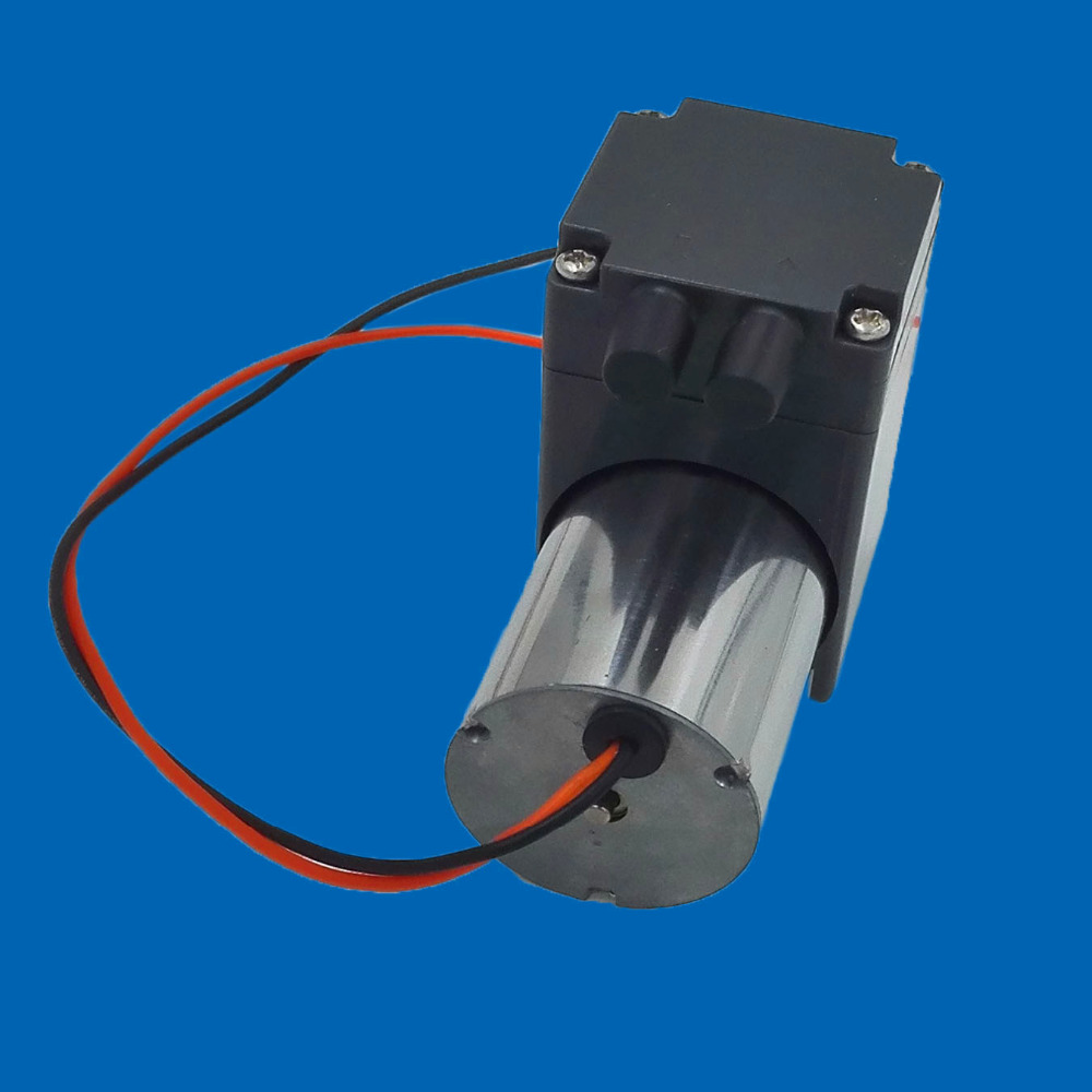 ФОТО brushless dc 24V 6L/M flow electric diaphragm compressor for air or vacuum