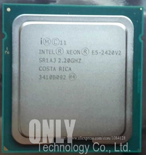 E5-2420 V2 Original Intel Xeon E5-2420V2 2.20GHz 6-Core 15MB LGA1356 E5 2420 V2 80W Free Shipping