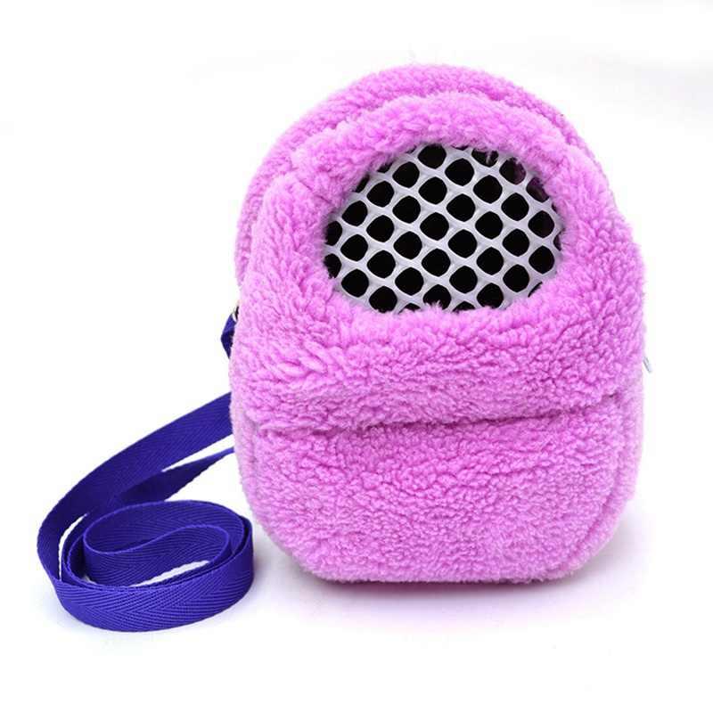 Теплый маленький Животные сумки плюшевые хомяков, Shouder сумки дышащий Pet морских свинок несущей Сумки
